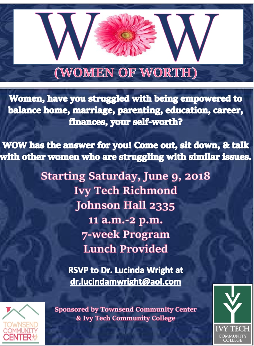 Women of worth poster